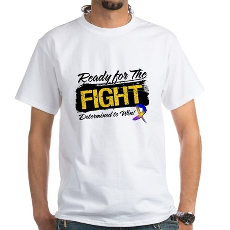 Ready Fight Bladder Cancer White T-Shirt