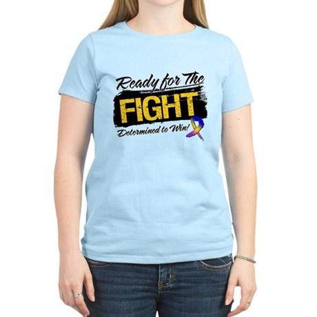 Ready Fight Bladder Cancer Women's Light T-Shirt