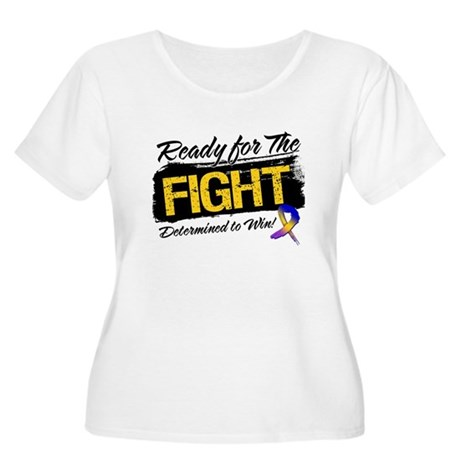 Ready Fight Bladder Cancer Women's Plus Size Scoop