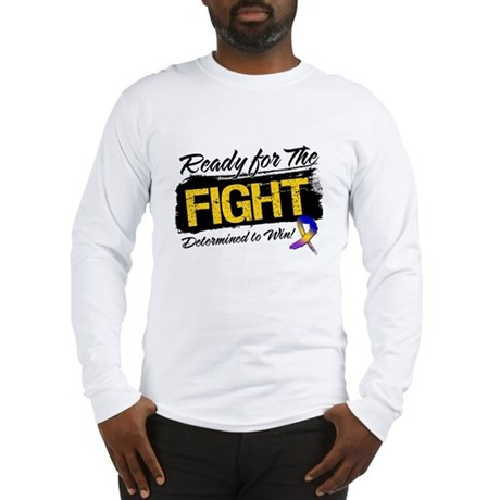 Ready Fight Bladder Cancer Long Sleeve T-Shirt