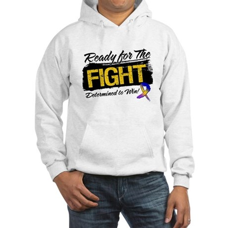 Ready Fight Bladder Cancer Hooded Sweatshirt