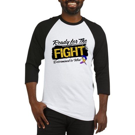 Ready Fight Bladder Cancer Baseball Jersey