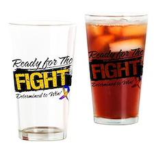 Ready Fight Bladder Cancer Drinking Glass