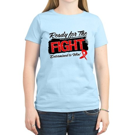 Ready Fight Blood Cancer Women's Light T-Shirt