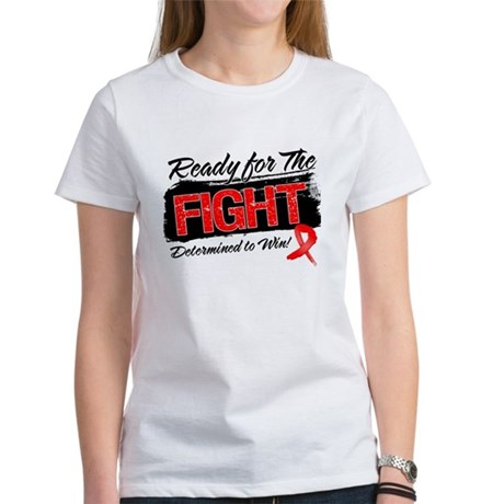 Ready Fight Blood Cancer Women's T-Shirt