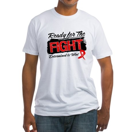 Ready Fight Blood Cancer Fitted T-Shirt