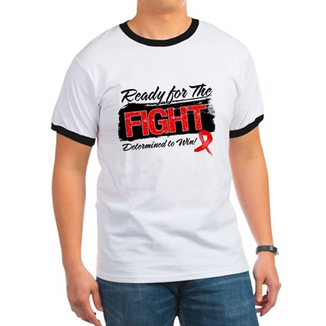 Ready Fight Blood Cancer Ringer T