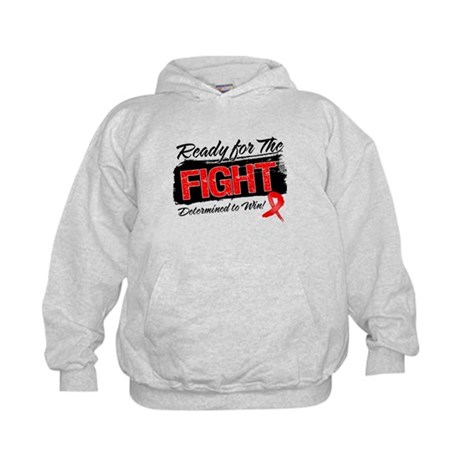 Ready Fight Blood Cancer Kids Hoodie