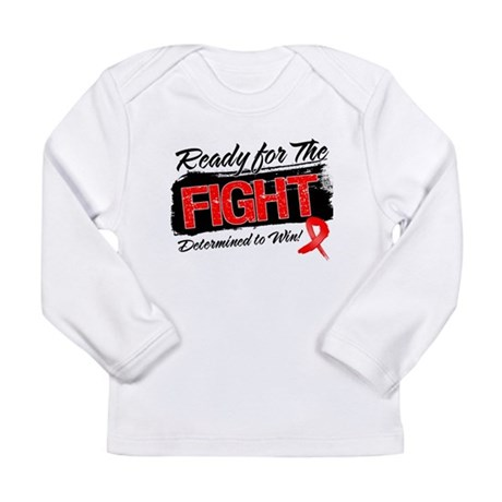Ready Fight Blood Cancer Long Sleeve Infant T-Shir
