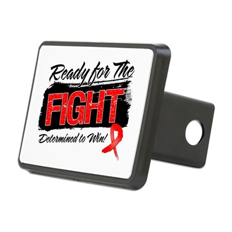 Ready Fight Blood Cancer Rectangular Hitch Cover
