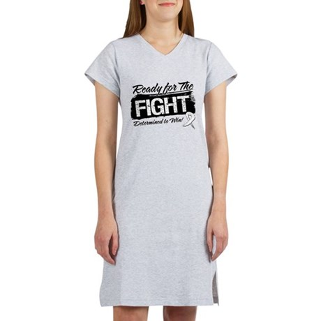 Ready Fight Bone Cancer Women's Nightshirt