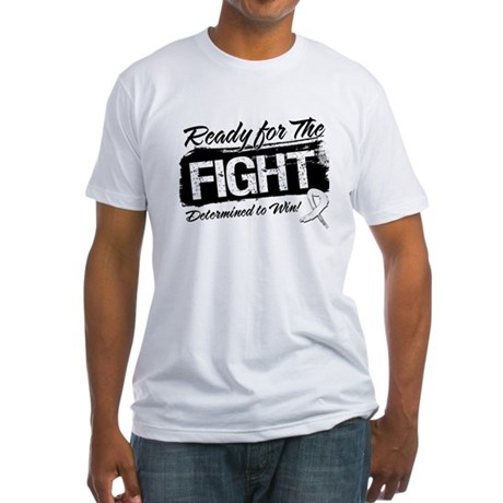 Ready Fight Bone Cancer Fitted T-Shirt