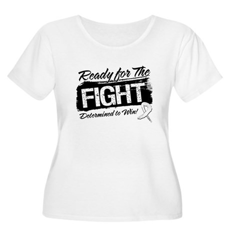 Ready Fight Bone Cancer Women's Plus Size Scoop Ne