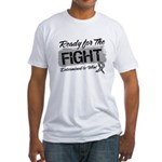 Ready Fight Carcinoid Cancer Fitted T-Shirt