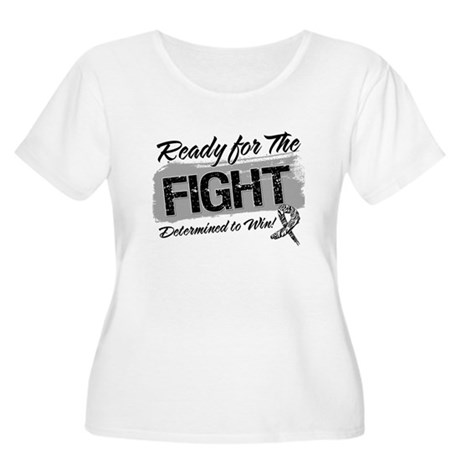Ready Fight Carcinoid Cancer Women's Plus Size Sco