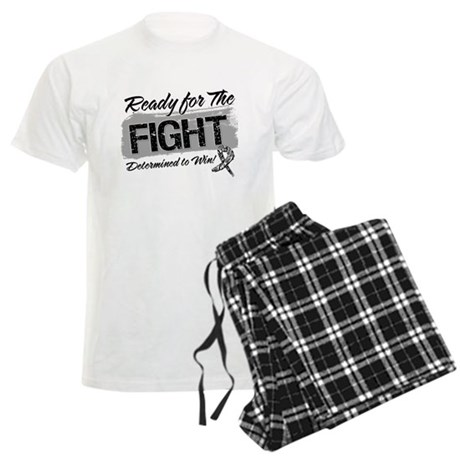Ready Fight Carcinoid Cancer Men's Light Pajamas