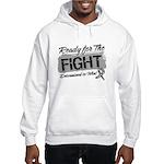 Ready Fight Carcinoid Cancer Hooded Sweatshirt