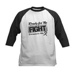 Ready Fight Carcinoid Cancer Kids Baseball Jersey