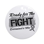 Ready Fight Carcinoid Cancer Ornament (Round)