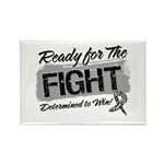 Ready Fight Carcinoid Cancer Rectangle Magnet (10