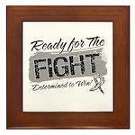 Ready Fight Carcinoid Cancer Framed Tile