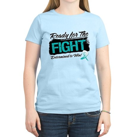 Ready Fight Cervical Cancer Women's Light T-Shirt