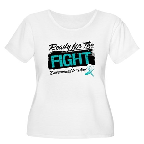 Ready Fight Cervical Cancer Women's Plus Size Scoo