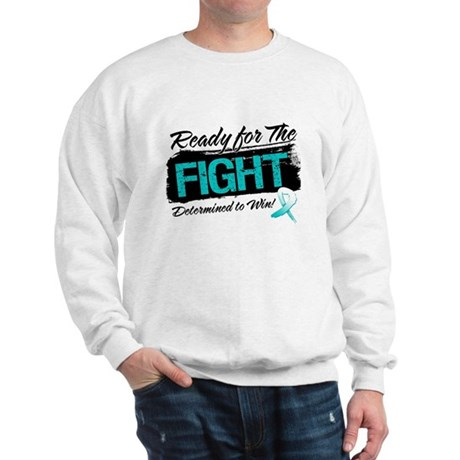Ready Fight Cervical Cancer Sweatshirt