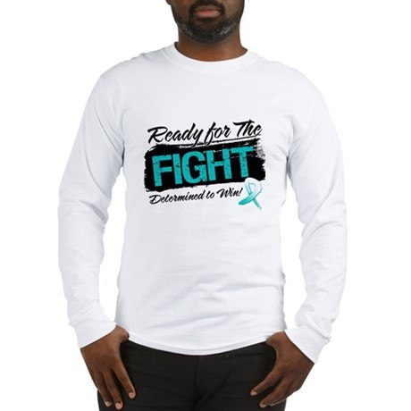 Ready Fight Cervical Cancer Long Sleeve T-Shirt