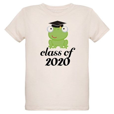 Class of 2020 Frog Organic Kids T-Shirt