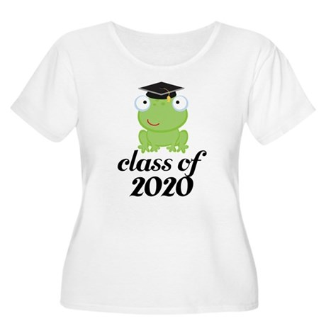 Class of 2020 Frog Women's Plus Size Scoop Neck T-