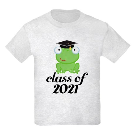 Class of 2021 Frog Kids Light T-Shirt