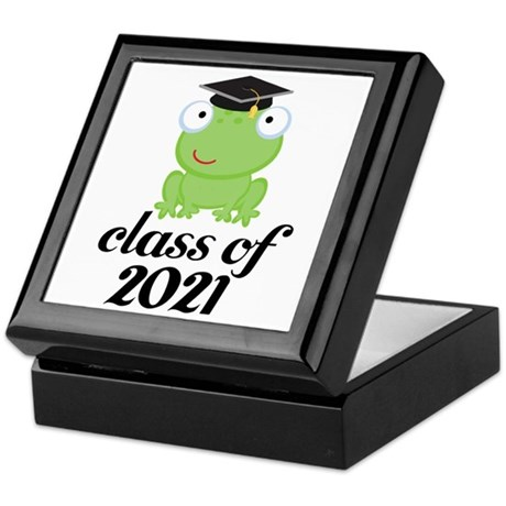 Class of 2021 Frog Keepsake Box