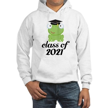 Class of 2021 Frog Hooded Sweatshirt