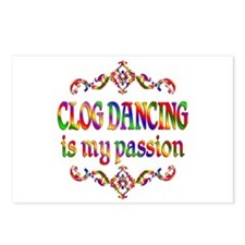 Clogging Passion Postcards (Package of 8)