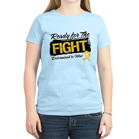 Ready Fight Childhood Cancer Women's Light T-Shirt