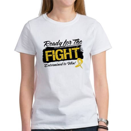 Ready Fight Childhood Cancer Women's T-Shirt
