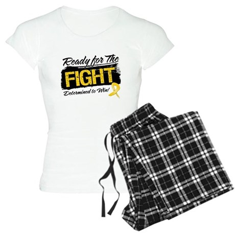 Ready Fight Childhood Cancer Women's Light Pajamas