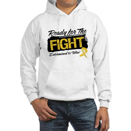 Ready Fight Childhood Cancer Hooded Sweatshirt