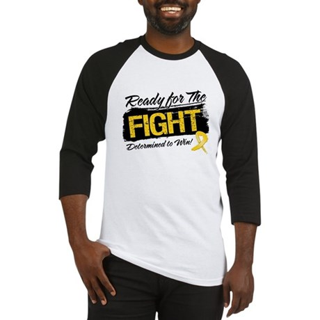Ready Fight Childhood Cancer Baseball Jersey
