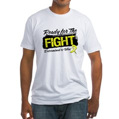 Ready Fight Ewing Sarcoma Fitted T-Shirt