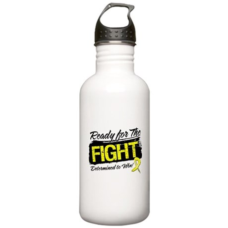 Ready Fight Ewing Sarcoma Stainless Water Bottle 1