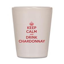 K C Drink Chardonnay Shot Glass