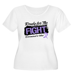 Ready Fight General Cancer Women's Plus Size Scoop