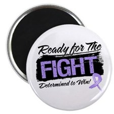 "Ready Fight General Cancer 2.25"" Magnet (10 pack)"