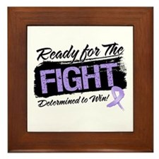 Ready Fight General Cancer Framed Tile