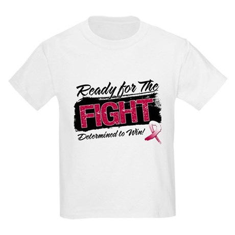 Ready Fight Head Neck Cancer Kids Light T-Shirt