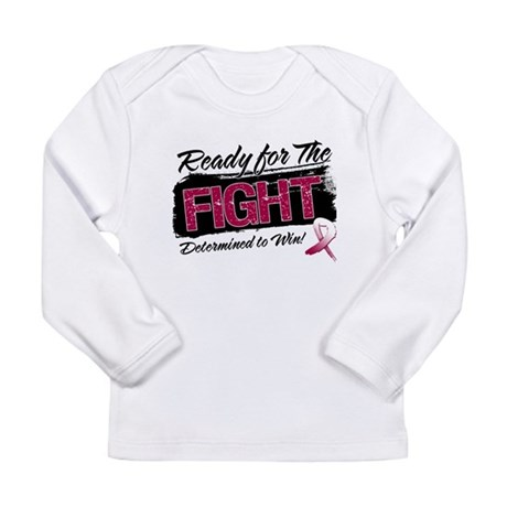 Ready Fight Head Neck Cancer Long Sleeve Infant T-
