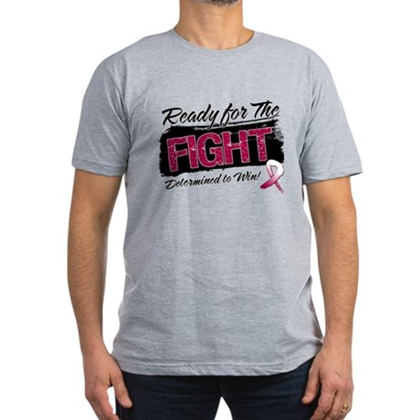 Ready Fight Head Neck Cancer Men's Fitted T-Shirt