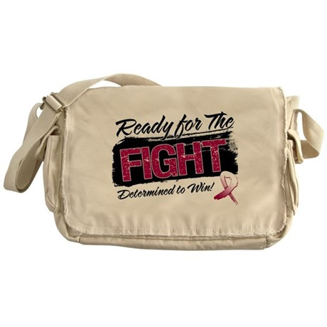Ready Fight Head Neck Cancer Messenger Bag
